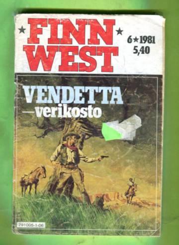 Finn West 6/81 - Vendetta - verikosto