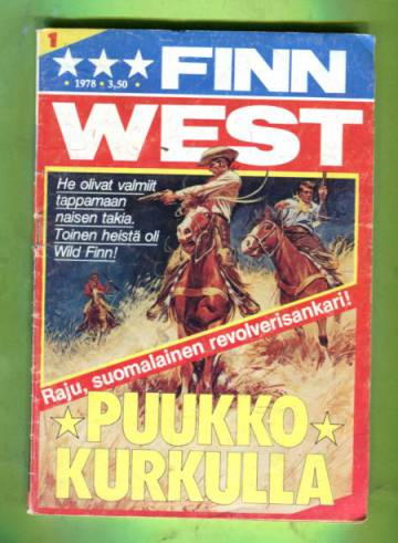 Finn West 1/78 - Puukko kurkulla