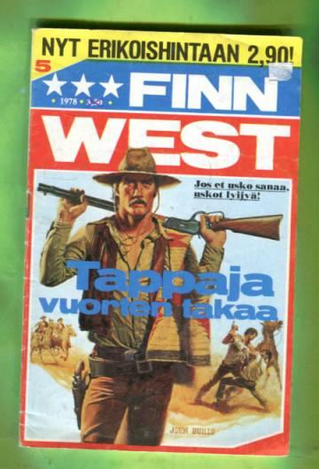 Finn West 5/78 - Tappaja vuorten takaa