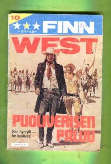 Finn West 10/79 - Puoliverisen paluu