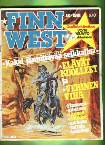 Finn West 12/81 - Elävät kuolleet; Verinen viha