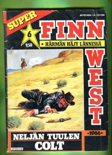 Finn West 6/86 - Neljän tuulen Colt
