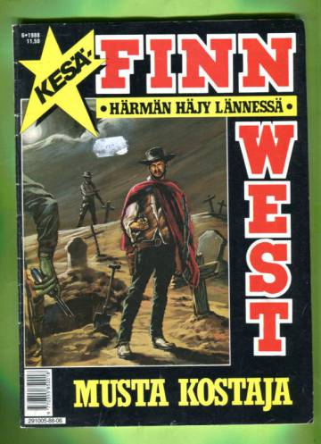 Finn West 6/88 - Musta kostaja