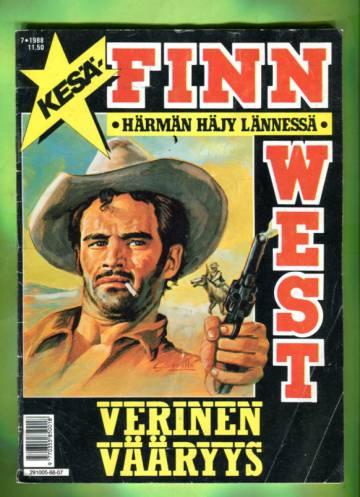 Finn West 7/88 - Verinen vääryys
