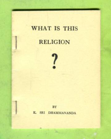 What Is This Religion?