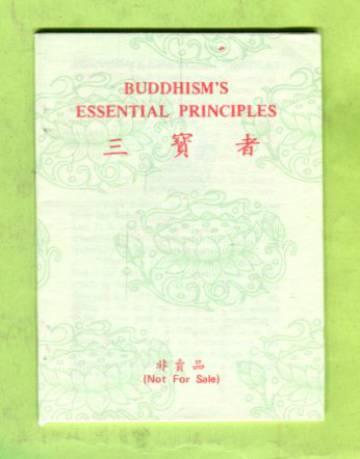 Buddhism's Essential Principles