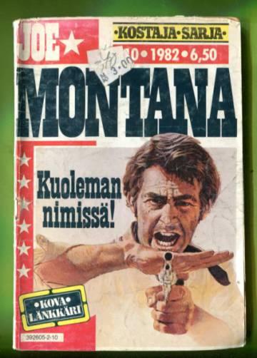 Joe Montana 10/82 - Kuoleman nimissä!