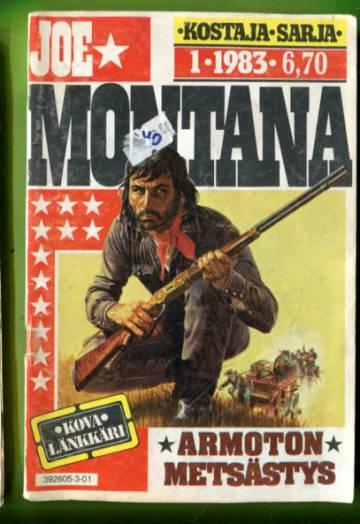 Joe Montana 1/83 - Armoton metsästys