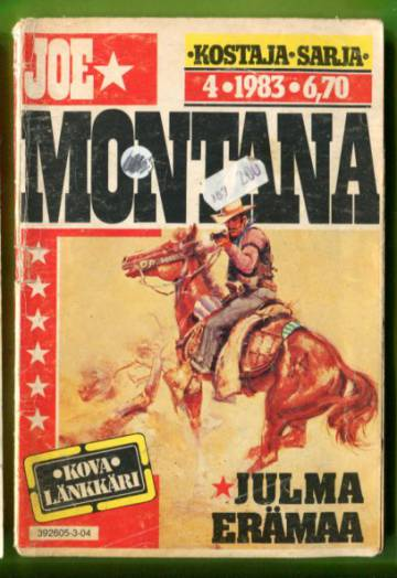 Joe Montana 4/83 - Julma erämaa
