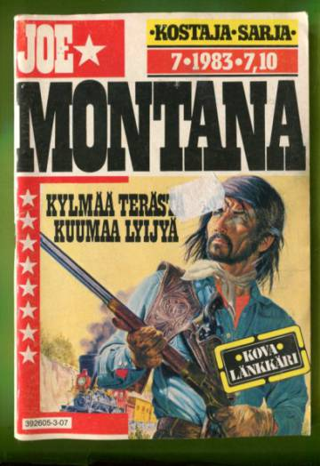 Joe Montana 7/83 - Kylmää terästä, kuumaa lyijyä