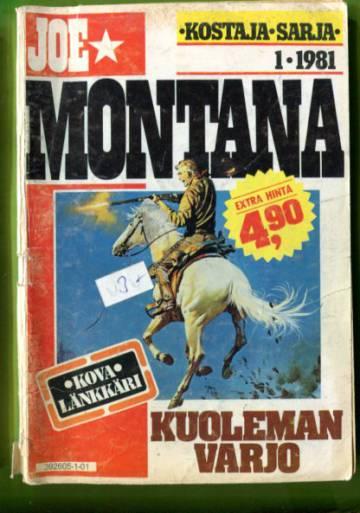Joe Montana 1/81