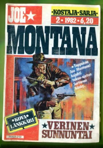 Joe Montana 2/82 - Verinen sunnuntai