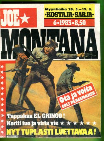 Joe Montana 6/83