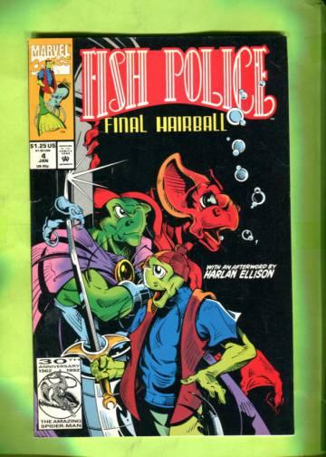 Fish Police Vol. 2 #4 Jan 93