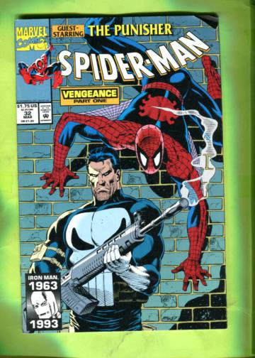 Spider-Man Vol 1 #32 Mar 93