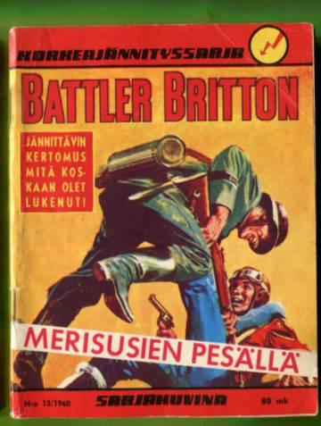 Korkeajännityssarja 13/60 - Battler Britton merisusien pesällä