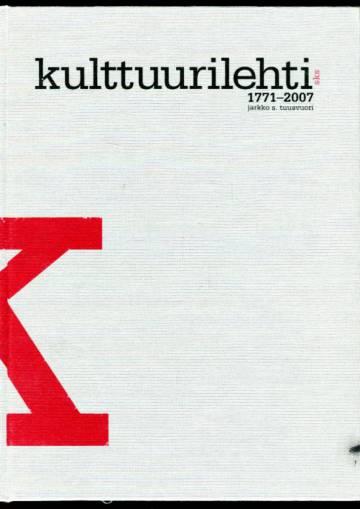 Kulttuurilehti 1771-2007