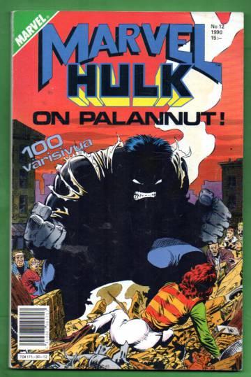 Marvel 12/90 - Hulk