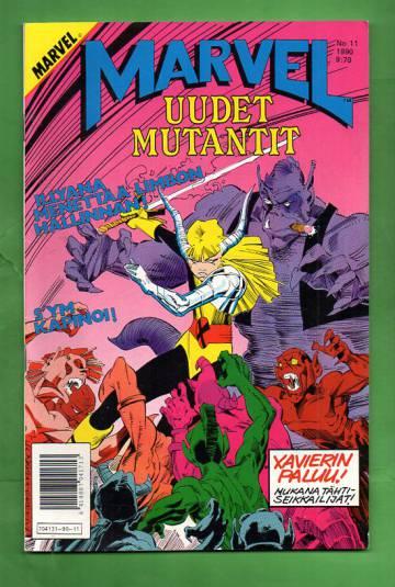 Marvel 11/90 - Uudet mutantit