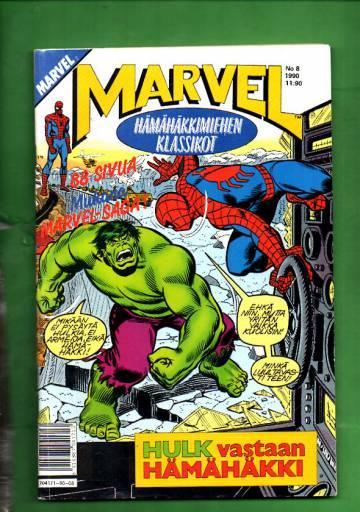 Marvel 8/90 - Hämähäkkimies (Spider-Man)