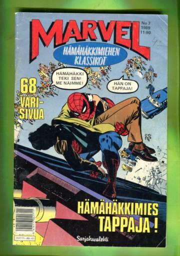 Marvel 7/89 - Hämähäkkimiehen klassikot (Spider-Man)