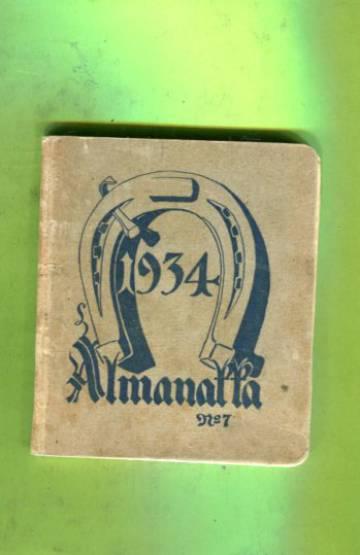Almanakka vuodeksi 1934 jälkeen vapahtajamme Kristuksen syntymän