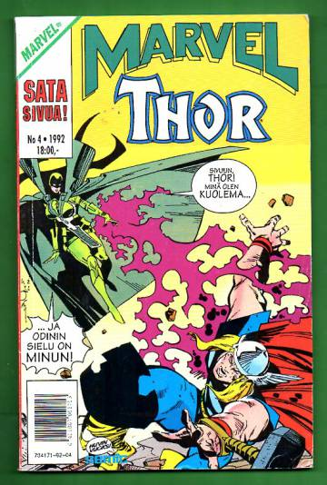 Marvel 4/92 - Thor