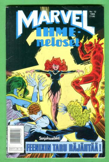 Marvel 12/89 - Ihmeneloset
