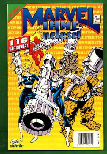 Marvel 7/92 - Ihmeneloset