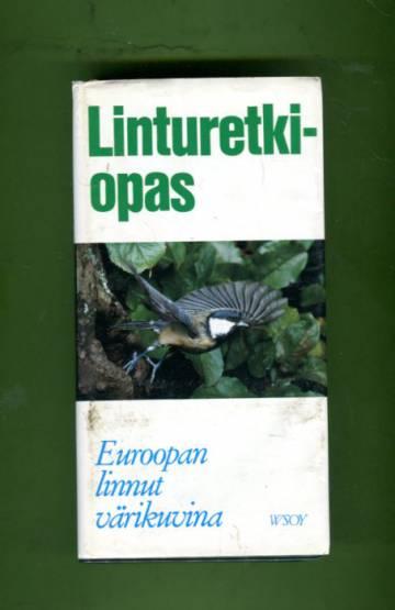 Linturetkiopas - Euroopan linnut värikuvina