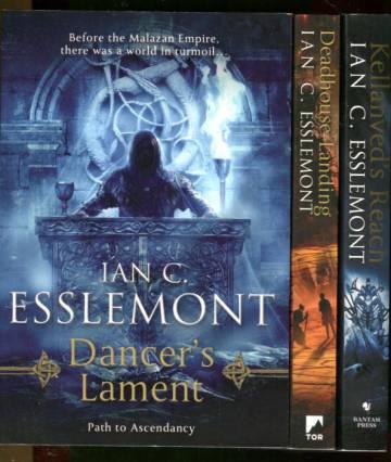 Path to Ascendancy 1-3 - Dancer's Lament, Deadhouse Landing & Kellanved's Reach
