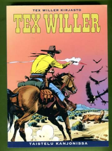 Tex Willer -kirjasto 58 - Taistelu kanjonissa