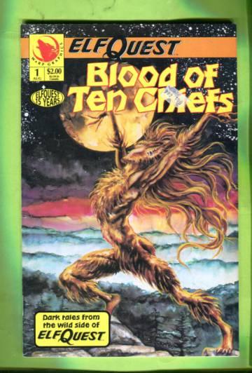 Elfquest: Blood of the Ten Chiefs #1 Aug 93