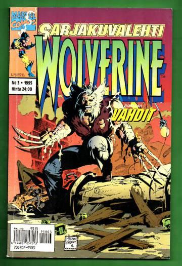 Sarjakuvalehti 3/95 - Wolverine