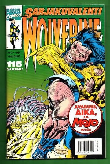 Sarjakuvalehti 2/94 - Wolverine
