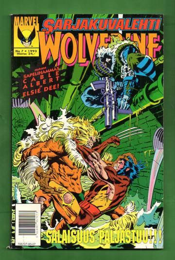 Sarjakuvalehti 7/93 - Wolverine