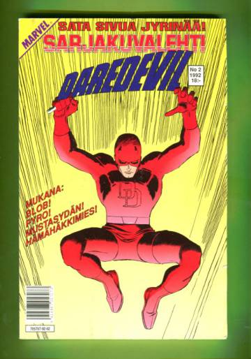 Sarjakuvalehti 2/92 - Daredevil