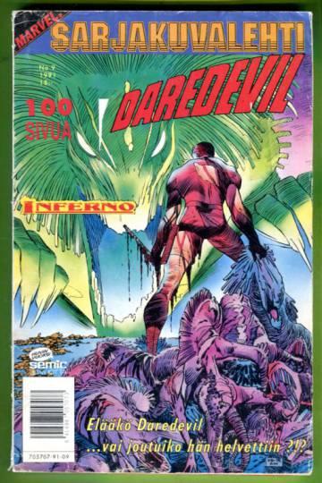 Sarjakuvalehti 9/91 - Daredevil