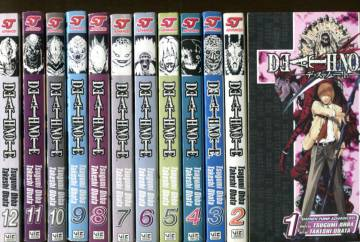 Death Note #1-12 (Whole serie)