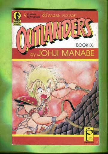 Outlanders #9 Aug 89