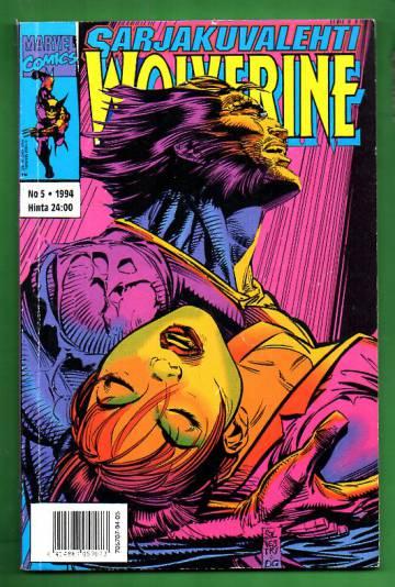 Sarjakuvalehti 5/94 - Wolverine