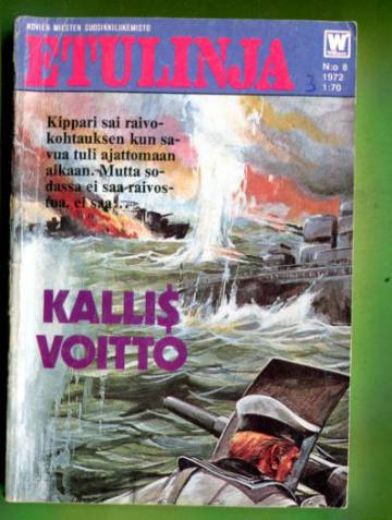 Etulinja 8/72 - Kallis voitto