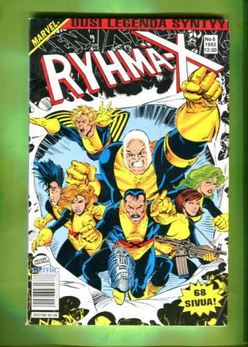 Ryhmä-X 6/92 (X-Men)