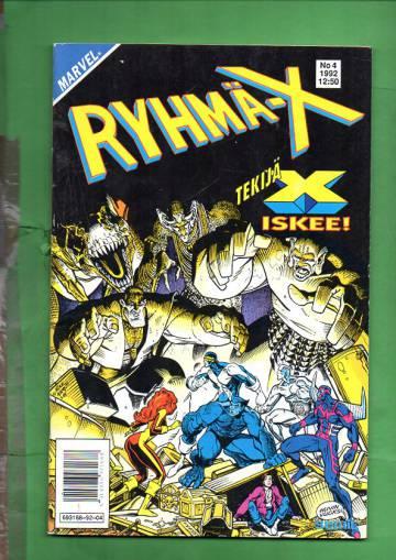 Ryhmä-X 4/92 (X-Men)