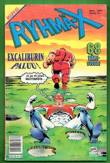 Ryhmä-X 9/91 (X-Men)