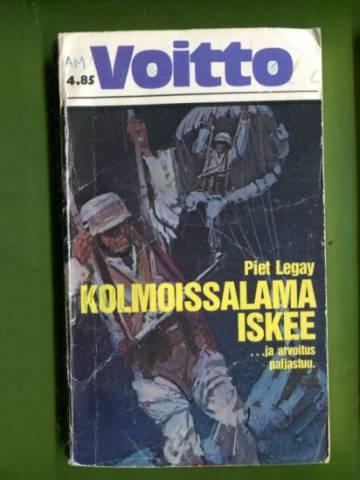 Voitto-kirjat 88 - Kolmoissalama iskee