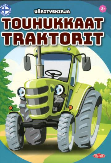 Touhukkaat traktorit - Värityskirja