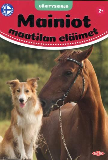 Mainiot maatilan eläimet - Värityskirja