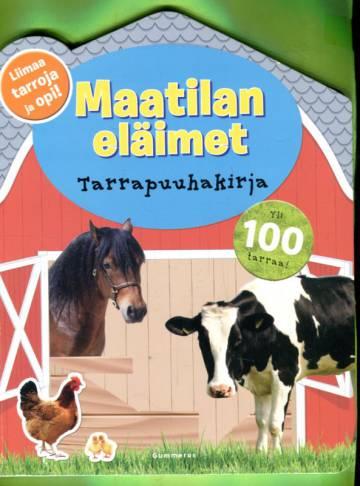 Maatilan eläimet - Tarrapuuhakirja
