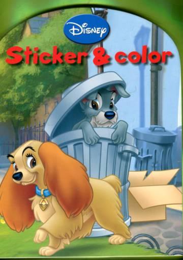 Disney - Sticker & Color